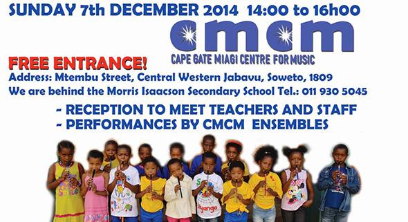 MIAGI CMCM Soweto 2014