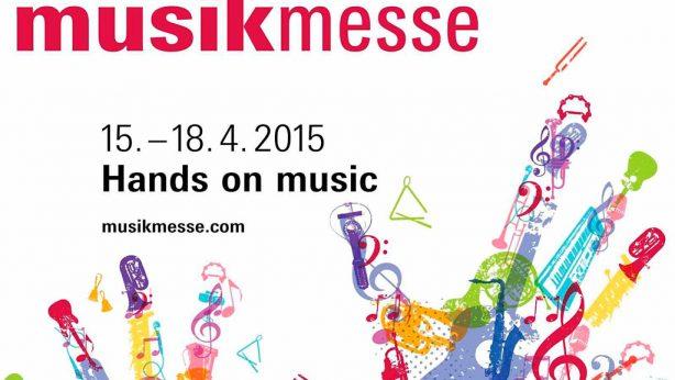 Entrée auf der Musikmesse Frankfurt