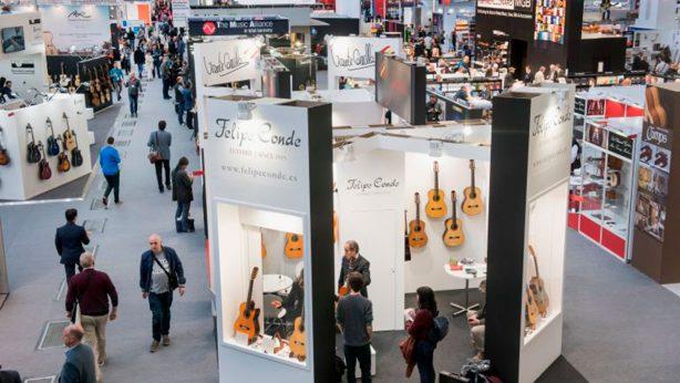 Musikmesse in Frankfurt 11.-14. April 2018