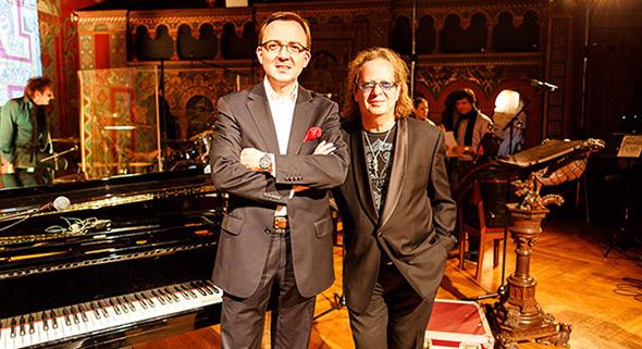 Jens V. Dünnbier und Jean-Jacques Kravetz (Foto: Daniel Eckenfelder)